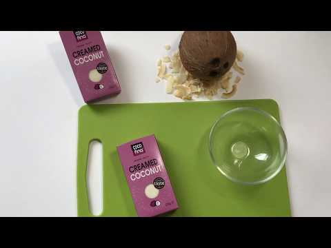 How to Make Coconut Milk from Creamed Coconut