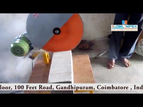 Global Cement Block Cutting Machine