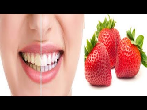 How to Whiten Teeth with Strawberries