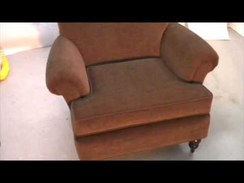 upholstering an occasional chair