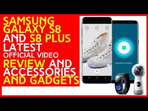 Samsung galaxy S8 and S8+ plus smartphone latest Review   price   introduction official video 2017