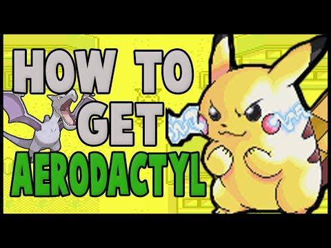 How to get Aerodactyl on Pokemon Yellow