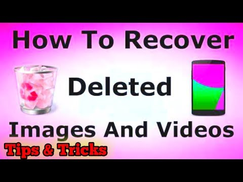 How To Restore all deleted pictures