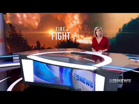 Fire Fight | 9 News Perth