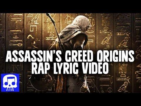 Assassin's Creed Origins Rap LYRIC VIDEO by JT Music -