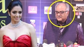 Sridevi Husband Boney Kapoor INSULTED By Reporters At Zee Cine Awards 2017