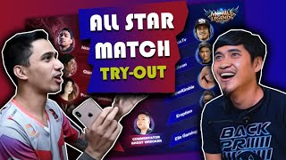 ML All Star Match (TRY-OUT)! Team-Dogie vs Team-Choox!