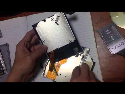 Teardown: Sony VAIO External CD-ROM Drive (PCGA-CD51/A)