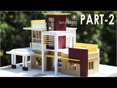 MODERN VILLA | How to make realistic villa house | PART 2