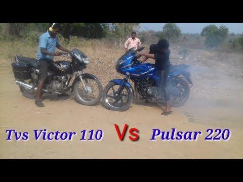 Pulsar 220 vs Tvs Victor 110