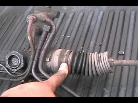 Mustang Steering Rack Out