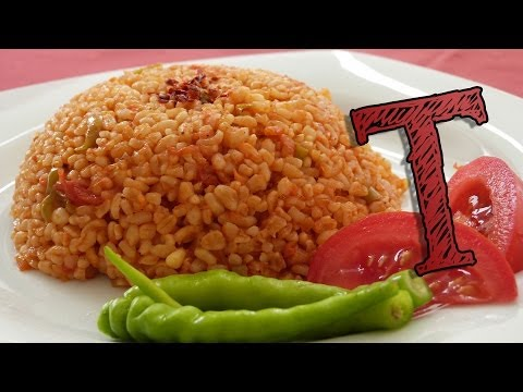 Bulgar Wheat Pilaf Recipe | Bulgur Recipe | Wheat with Tomatoes | Healthy Rice Recipe
