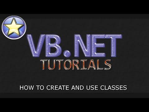 VB.NET Tutorial For Beginners - Creating Classes (Visual Basic Programming)