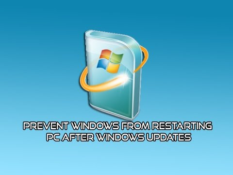 Prevent Windows From Restarting PC After Windows Updates