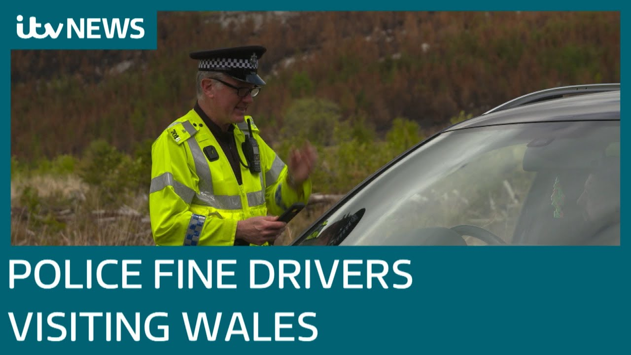 Welsh police fine visitors from England as confusion continues over lockdown rules | ITV News