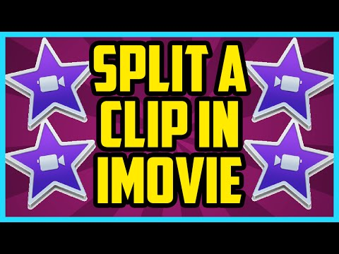 iMovie - How To Split A Clip In iMovie 10.1.2 2017 (EASY) - iMovie Cut Clip Tutorial for Beginners