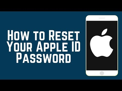 How to Reset Your Apple ID Password on iOS 2018