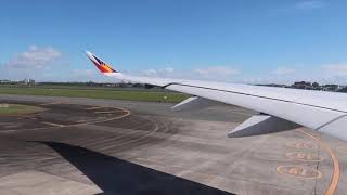 Takeoff Philippine Airlines Airbus A350-900 from NAIA to LONDON HEATHROW