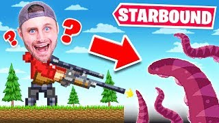 I FOUND FLAT EARTH (Starbound)