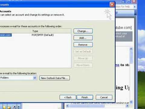 Change SMTP Port Outlook 2003