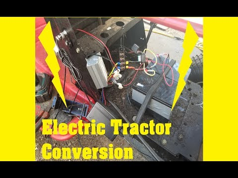 Electric Tractor Conversion MTD Yard Machine