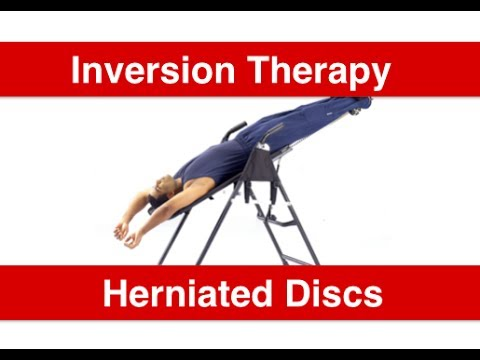 Atlanta Chiropractor - Inversion Table for Herniated Disc - Sciatica - Car Accident Doctor Atlanta