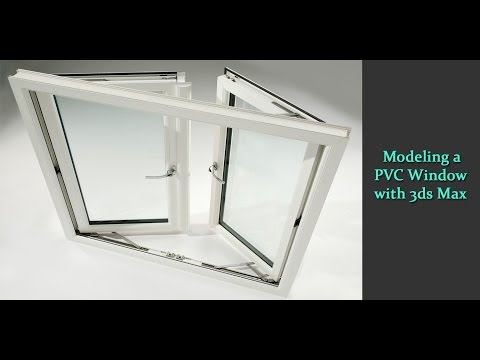 Modeling a PVC Window in 3ds Max