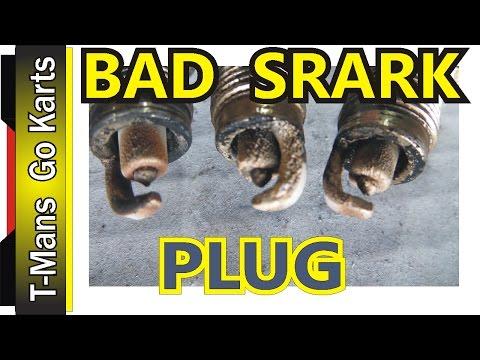 Now these were bad | SPARK PLUGS