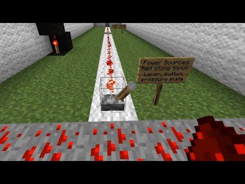 Minecraft Tutorial - Redstone and Logic Gates