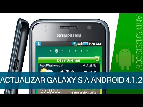 Cómo actualizar Samsung Galaxy S a Android 4.1.2 con la Rom Tsunami X3.0