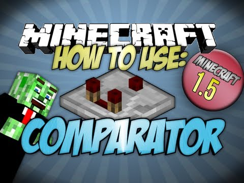 How to use the Comparator Minecraft