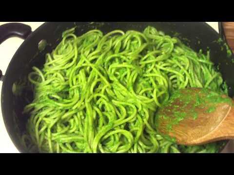 Pesto Sauce With Avocado, Green Bell Pepper And Cilantro Pesto