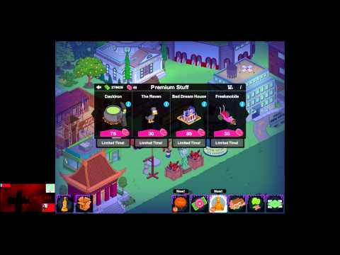 The Simpsons Tapped Out Patch 4.5.0 Halloween Update The Ghost in the Machine-Based App Parts 2-4