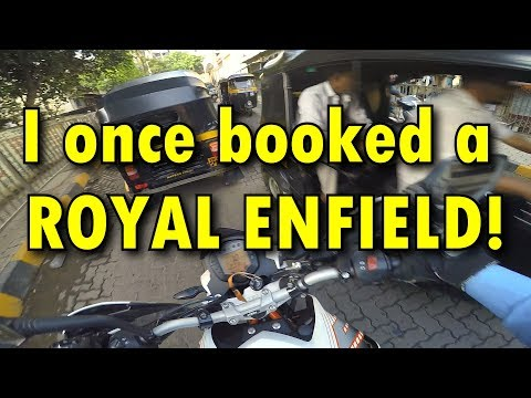 Vlog #8 | I once booked a Royal Enfield ! | Daily Observations