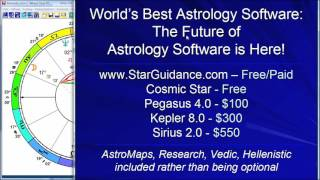 Best Astrology Software: Kepler and Sirius