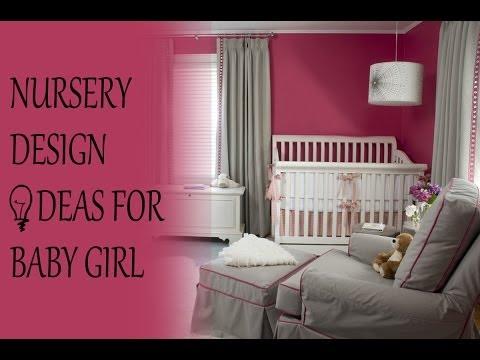 Nursery design ideas for baby girl