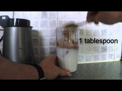 How to make chocolate & peanut butter protein shake | Sports Nutrition Discounts