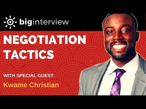 Interview - Kwame Christian (Negotiation Coach)