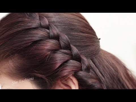 How to do Braid Hairstyle for long hair 2018 | Easy Hairstyle step by step tutorial 2018