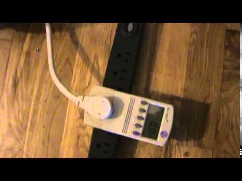 SOLAR POWERED 100 WATT COB LED EXPERIMENT, LED ACTUAL DRAW