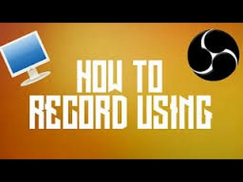 How to Record using OBS on MAC (EASY)