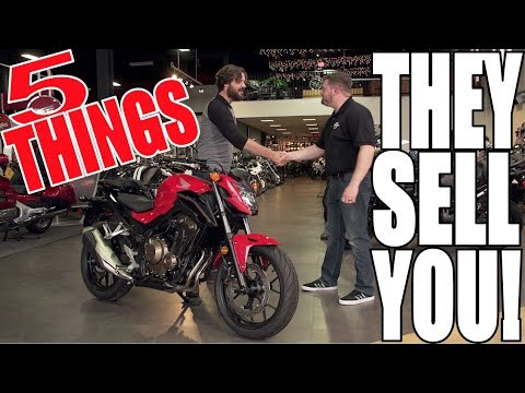 How to buy your first motorcycle -