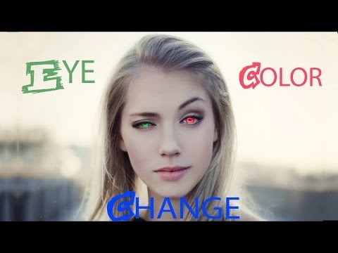 After Effects Eye Color Change Tutorial