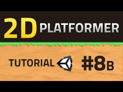 8B. How to make a 2D Platformer - SHOOTING - Unity Tutorial