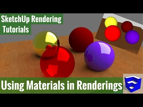 Rendering in SketchUp - Using Materials to Create a Photorealistic Rendering with Twilight Render