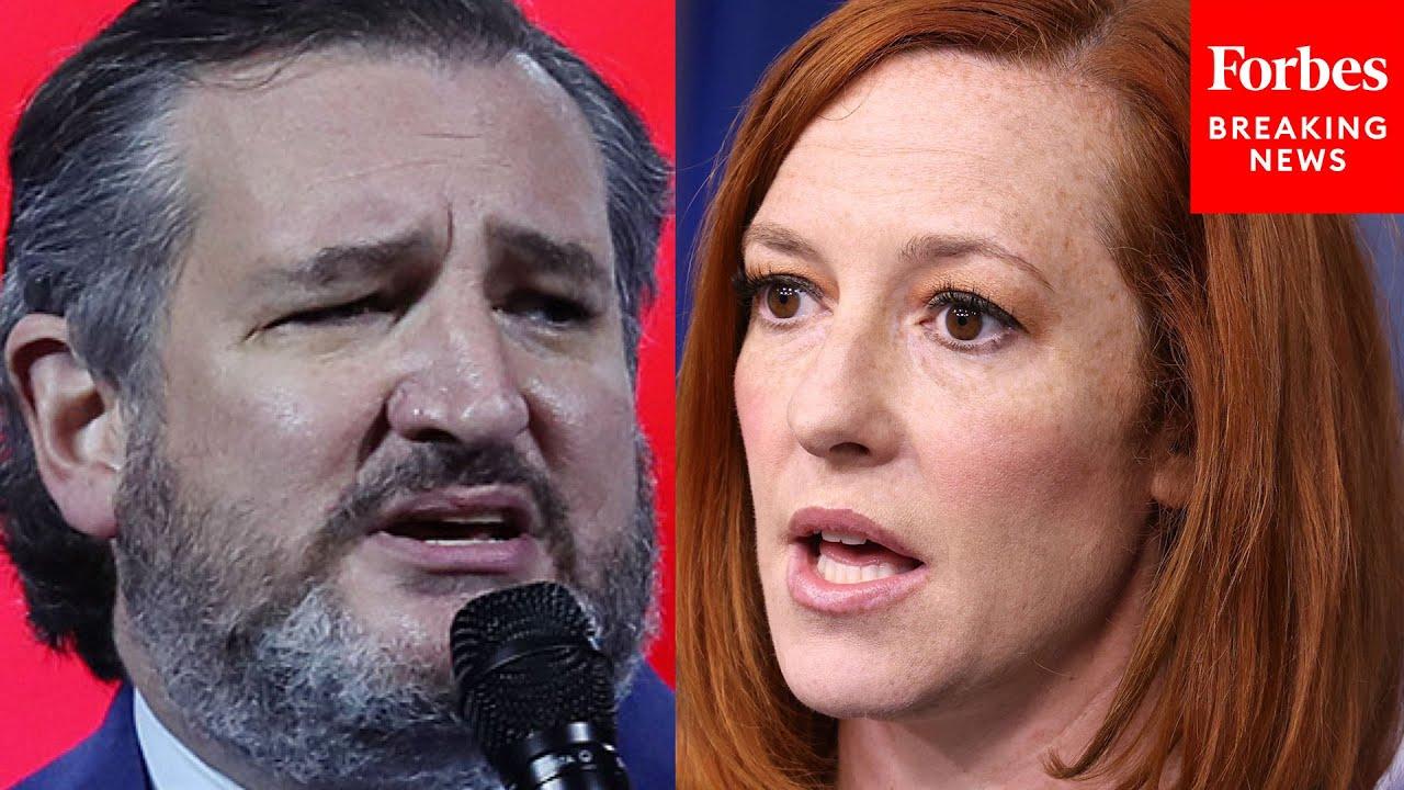 Ted Cruz Mocks Jen Psaki, Castigates Democrats Over 'Defund The Police' Claims