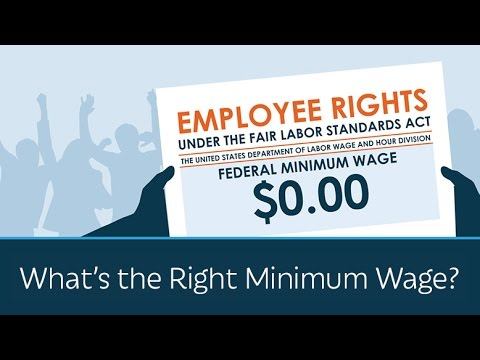 What's the Right Minimum Wage?