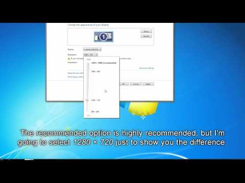 PC Tutorial #3: Change Screen Resolution