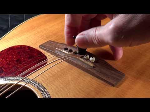 Acoustic Guitar Bridge Pin Removal Tool