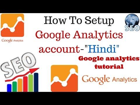 How to add google analytics to my website   Google Analytics tutorial Part 1 [Hindi]